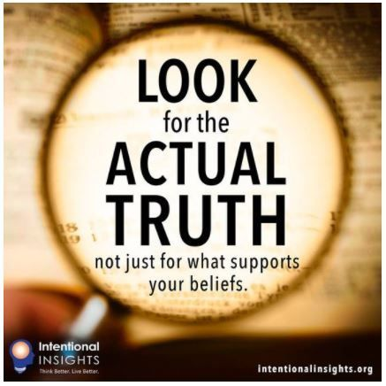 """Image motivating us to seek the actual truth, whatever it is (Created by Lexie Holliday for <a rel=""""nofollow"""" href=""""http://in"""