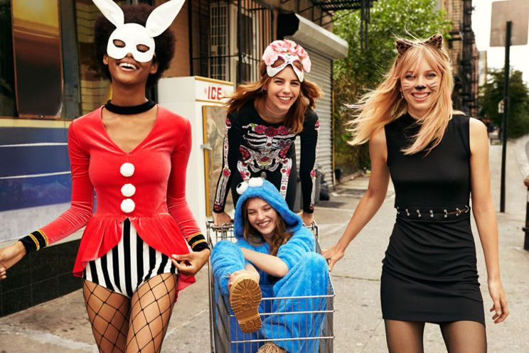H&M's Halloween Party Wear Will Have You Wishing Every Day Was A Masquerade