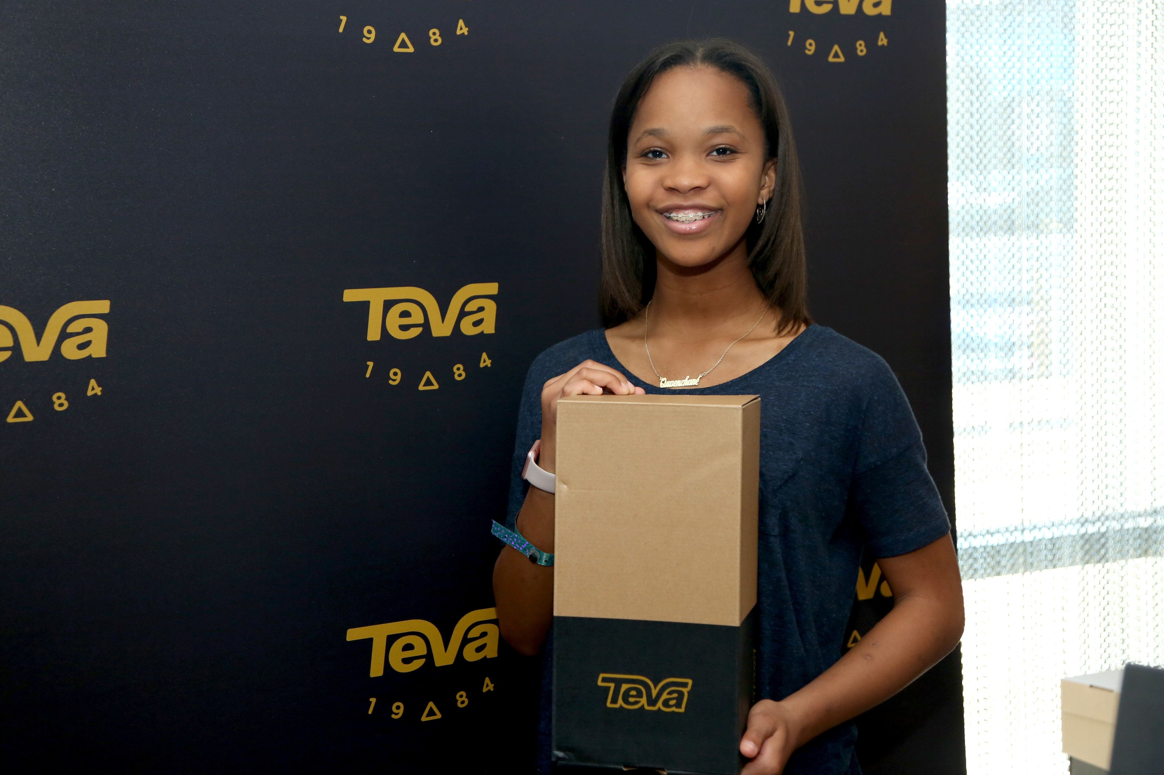 Actress Quvenzhané Wallis released two children's books on Tuesday.