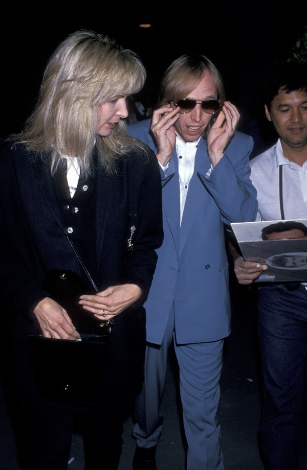 "With wife Jane Petty at the ""Performance of Ringo and the All-Stars"" on Sept. 4, 1989 in Los Angeles, CA."