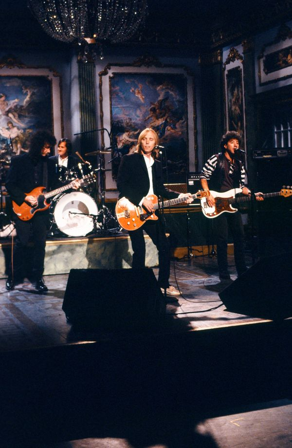 "With The Heartbreakers on ""Saturday Night Live"" on May 20, 1989."