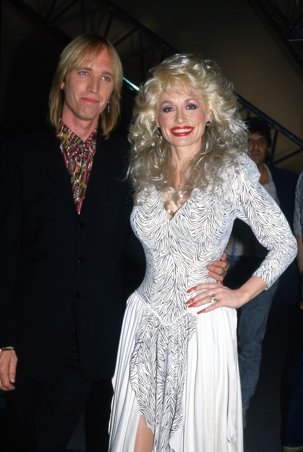 "With Dolly Parton on ""Dolly"" in 1987."