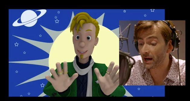 David plays Buck Douglas in the animated