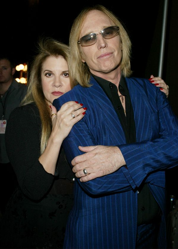 With Stevie Nicks at the 2003 Radio Music Awards on Oct. 27, 2003 in Las Vegas, NV.