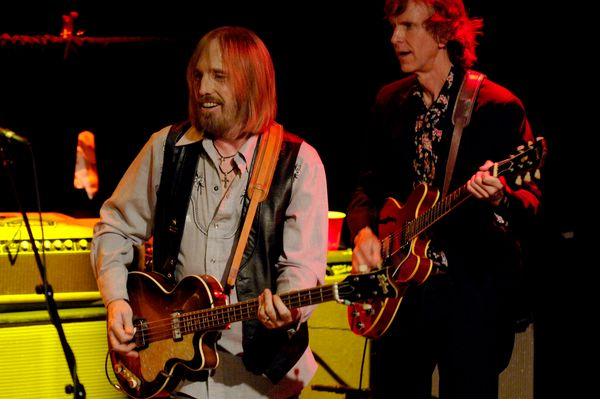 With Tom Leadon of Mudcrutch perform in support of the bands self- titled release on May 1, 2008 in West Hollywood, CA.&