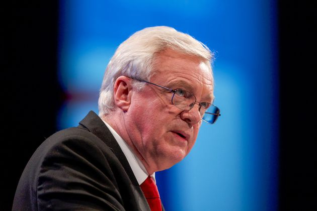 David Davis speaking at the Conservative Party