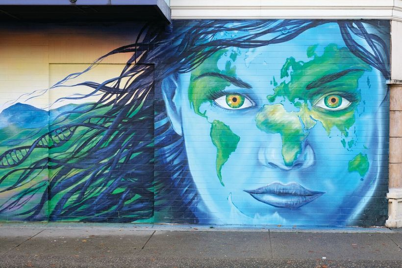Mural by Emily Gray / Vancouver, Canada