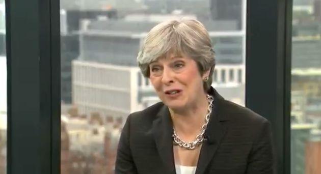 Watch Theresa May Insist She Has Feelings After Maybot