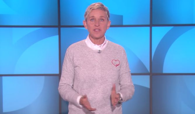 Ellen Responds To Las Vegas Massacre In Most Beautiful (And Most Ellen) Way