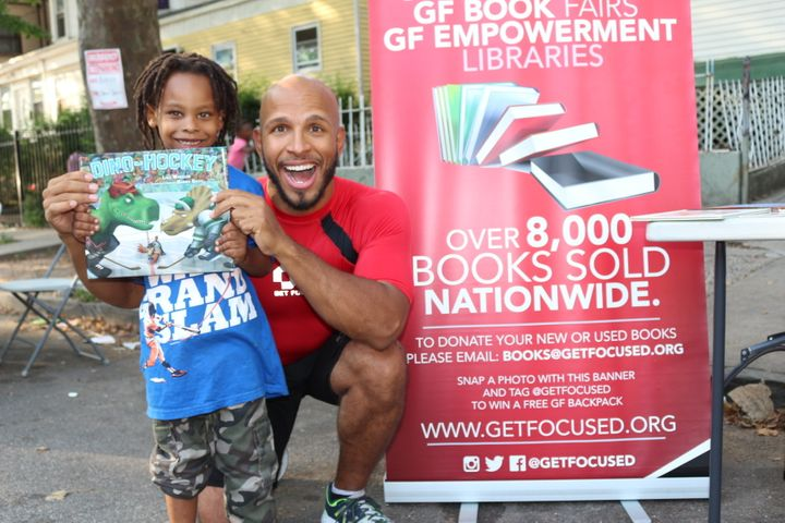 Martinez said Get Focused has held 40 events in the last two-and-a-half years to teach the kids the importance of literacy an