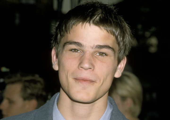 "Josh Hartnett during World Premiere of ""Halloween H2O"" at Mann's Village Theater in Westwood, California, July 1998."
