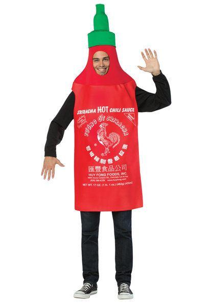 "<a href=""https://www.halloweenexpress.com/adult-sriracha-costume-p-32609.html"" target=""_blank"">Shop it here</a>."