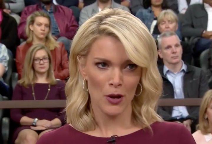 NBC Today Show host Megyn Kellytelling Tom Brokaw that they need to wrap up.