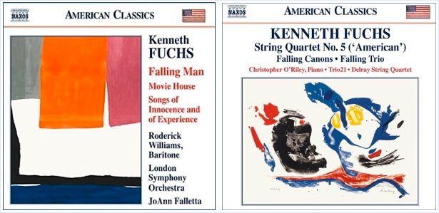 <p>CDs – <em>Falling Man</em> and <em>Falling Trio</em></p>