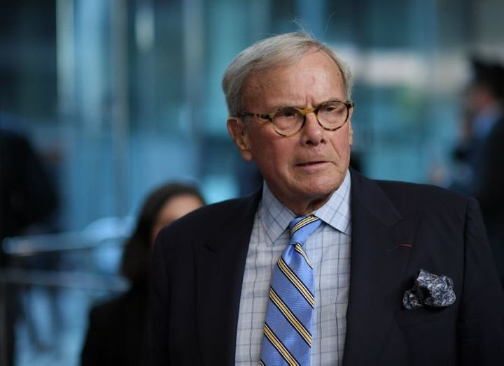Tom Brokaw attends the Five Came Back world premiere at Alice Tully Hall at Lincoln Center on March 27 2017 in New York City.
