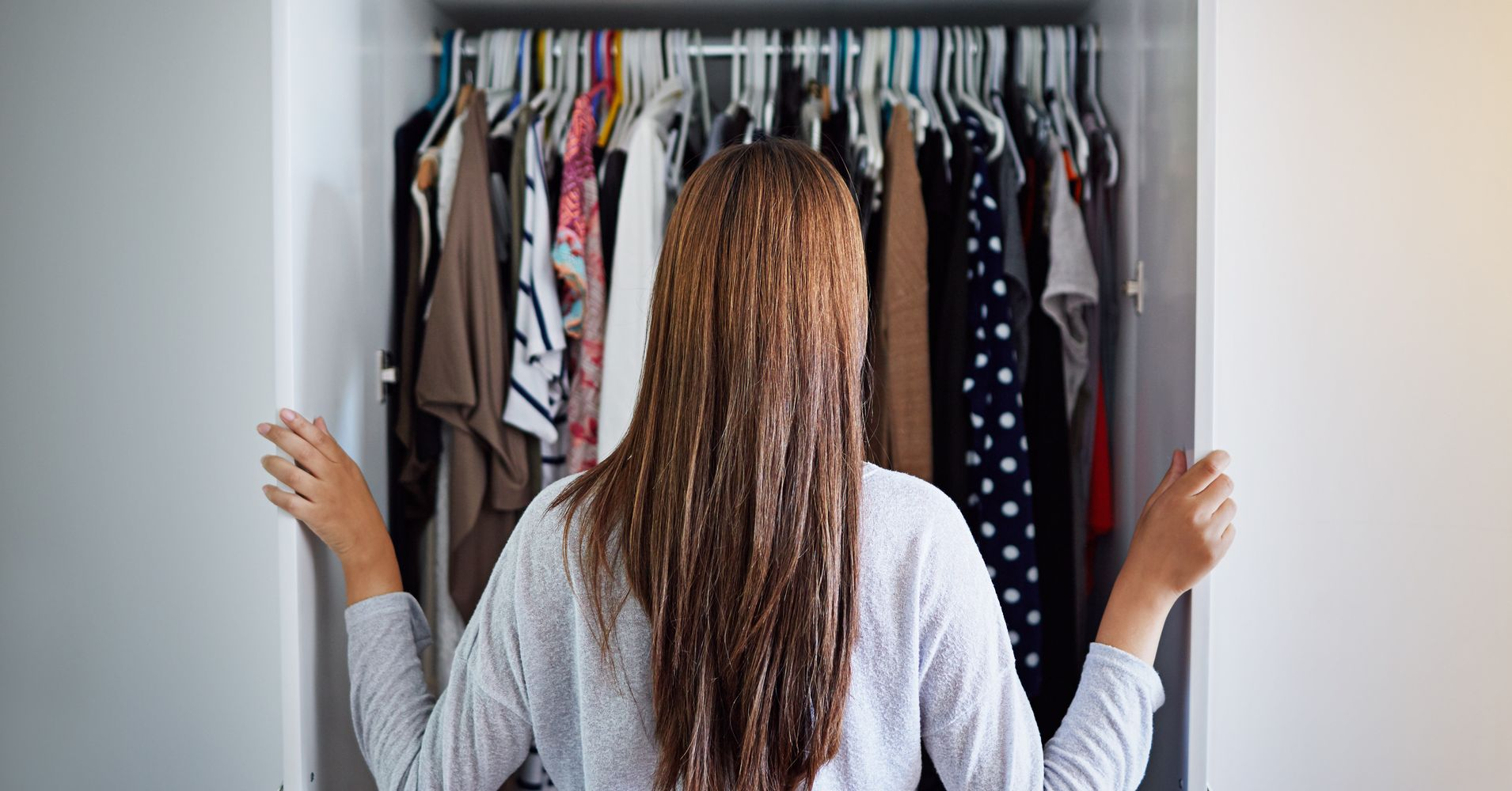 6 Budget Friendly Ways To Organize A Small Closet Huffpost