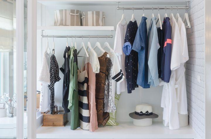 6 Budget Friendly Ways To Organize A Small Closet