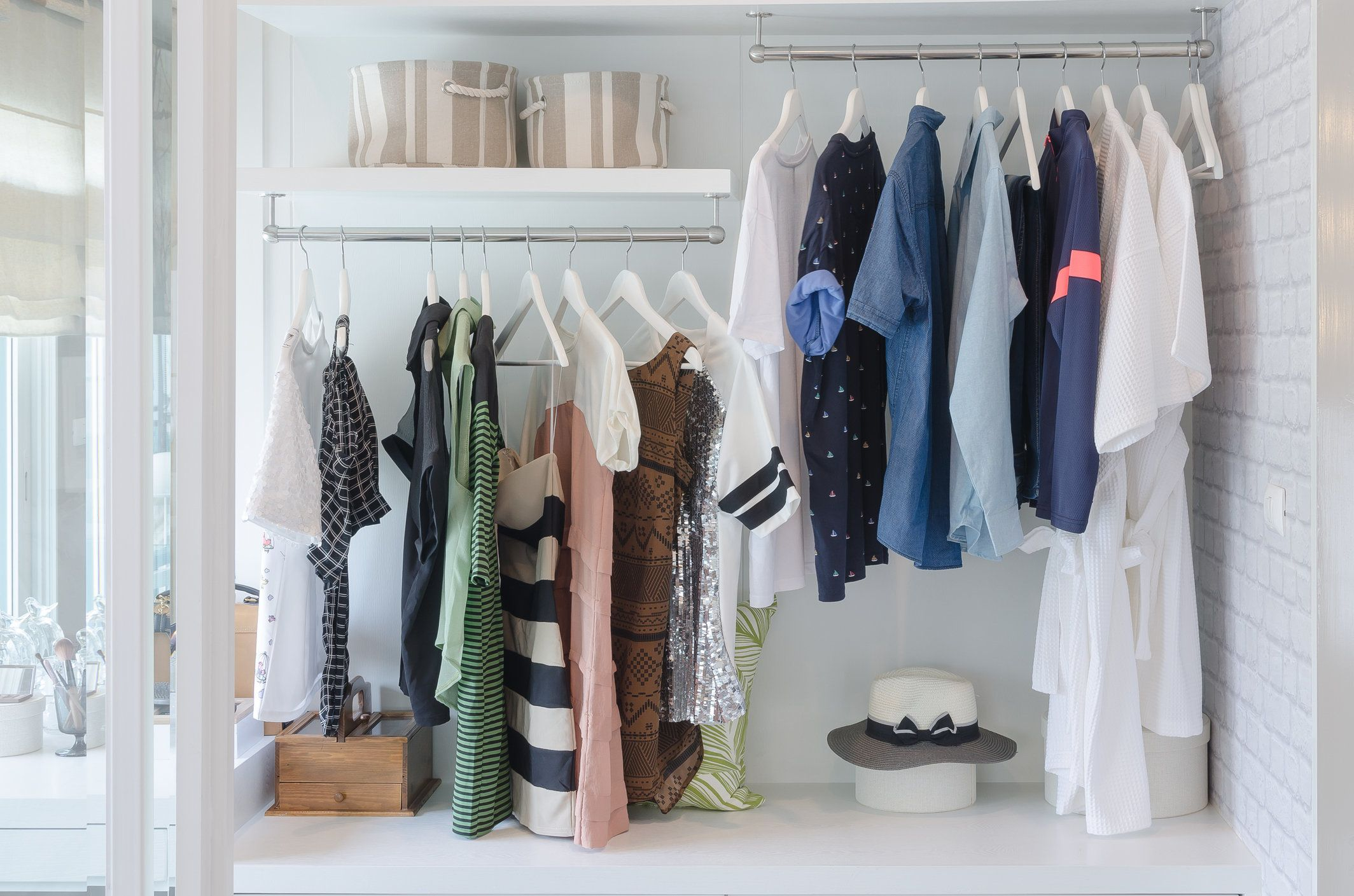 6 Budget Friendly Ways To Organize A Small Closet