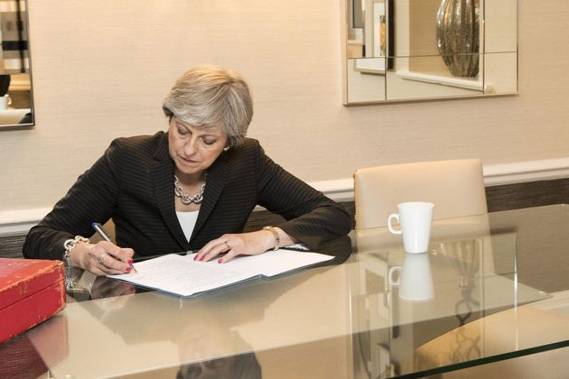 Theresa May puts the final touches to her party conference