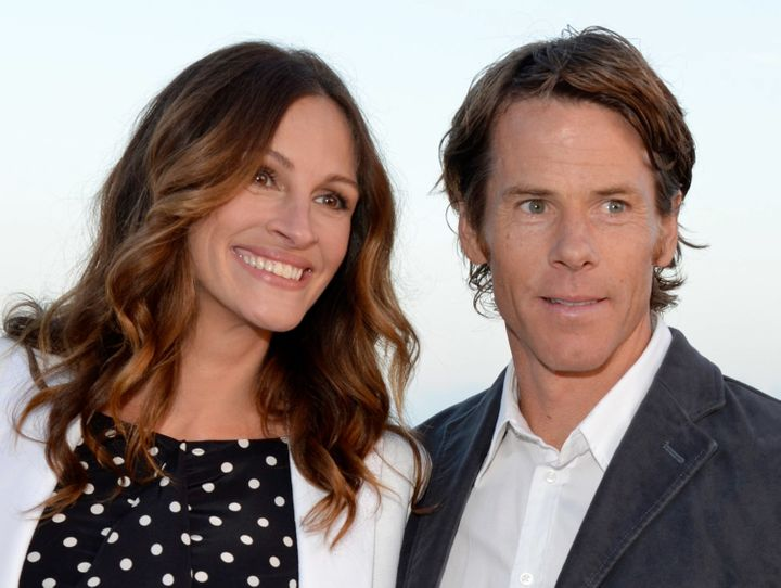 Julia Roberts and Daniel Moder in 2012.