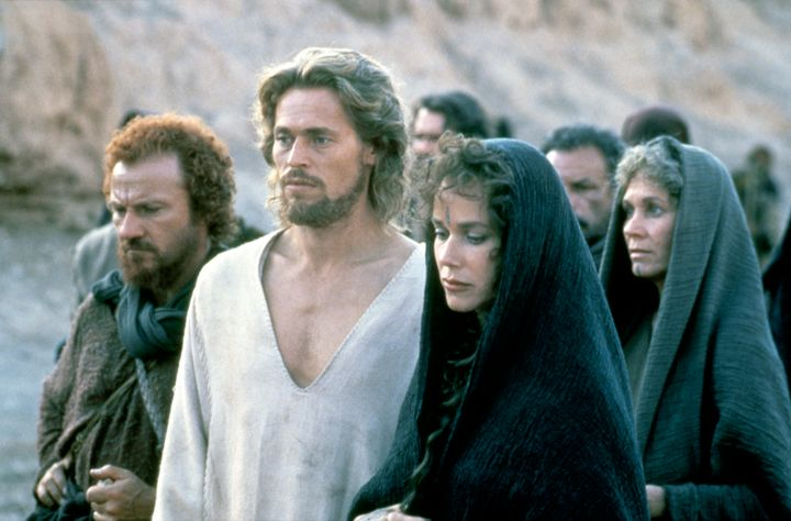"Harvey Keitel, Willem Dafoe and Barbara Hershey star in ""The Last Temptation of Christ,"" released in 1988."