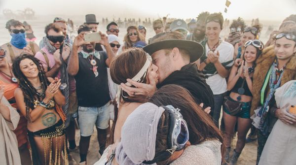 """""""This wedding was like a dream and definitely made me cry. Some of these people you see in these photos were their friends bu"""