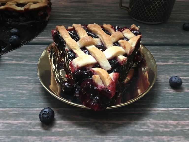 The Best Blueberry Pie... Ever! (Gluten-Free/Paleo/Vegan)