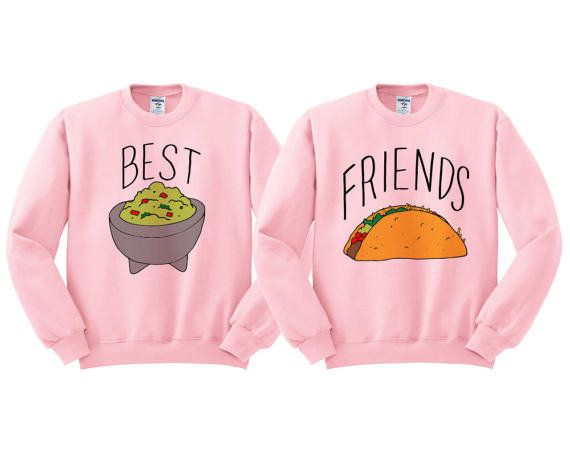 """<a href=""""https://www.etsy.com/listing/520109867/best-friends-guac-and-taco-crewneck-duo"""" target=""""_blank"""">Shop them here</a>.&"""