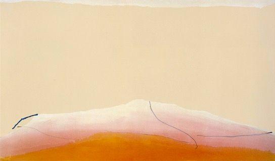 Helen Frankenthaler, <em>Silent Wish</em>.