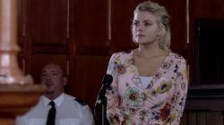 'Coronation Street' Producers Issue Apology Over Bethany Platt Courtroom Inaccuracy