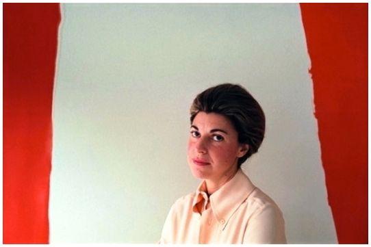 <p>Helen Frankenthaler – with <em>Summer Banner</em></p>