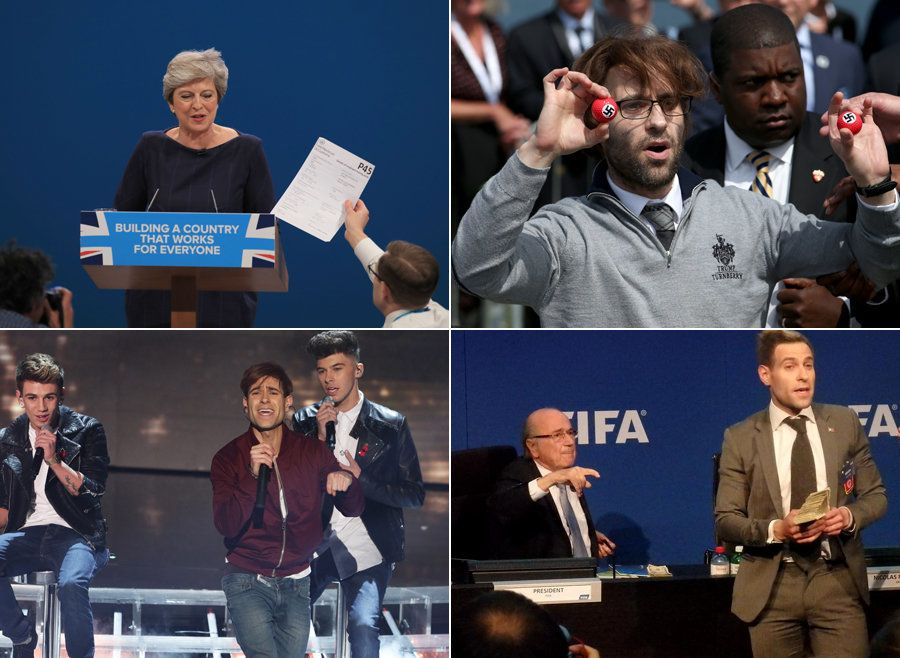 As Lee Nelson Pranks Theresa May, Here's Six Other Times His Stunts Hit The