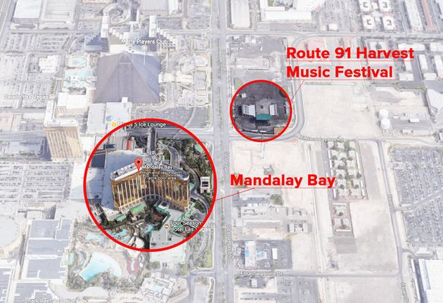 Body Camera Footage Shows Harrowing View Of Las Vegas