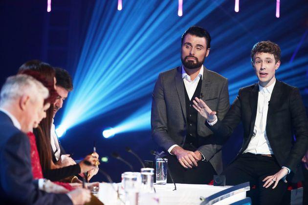 Matt on 'The Xtra Factor' last