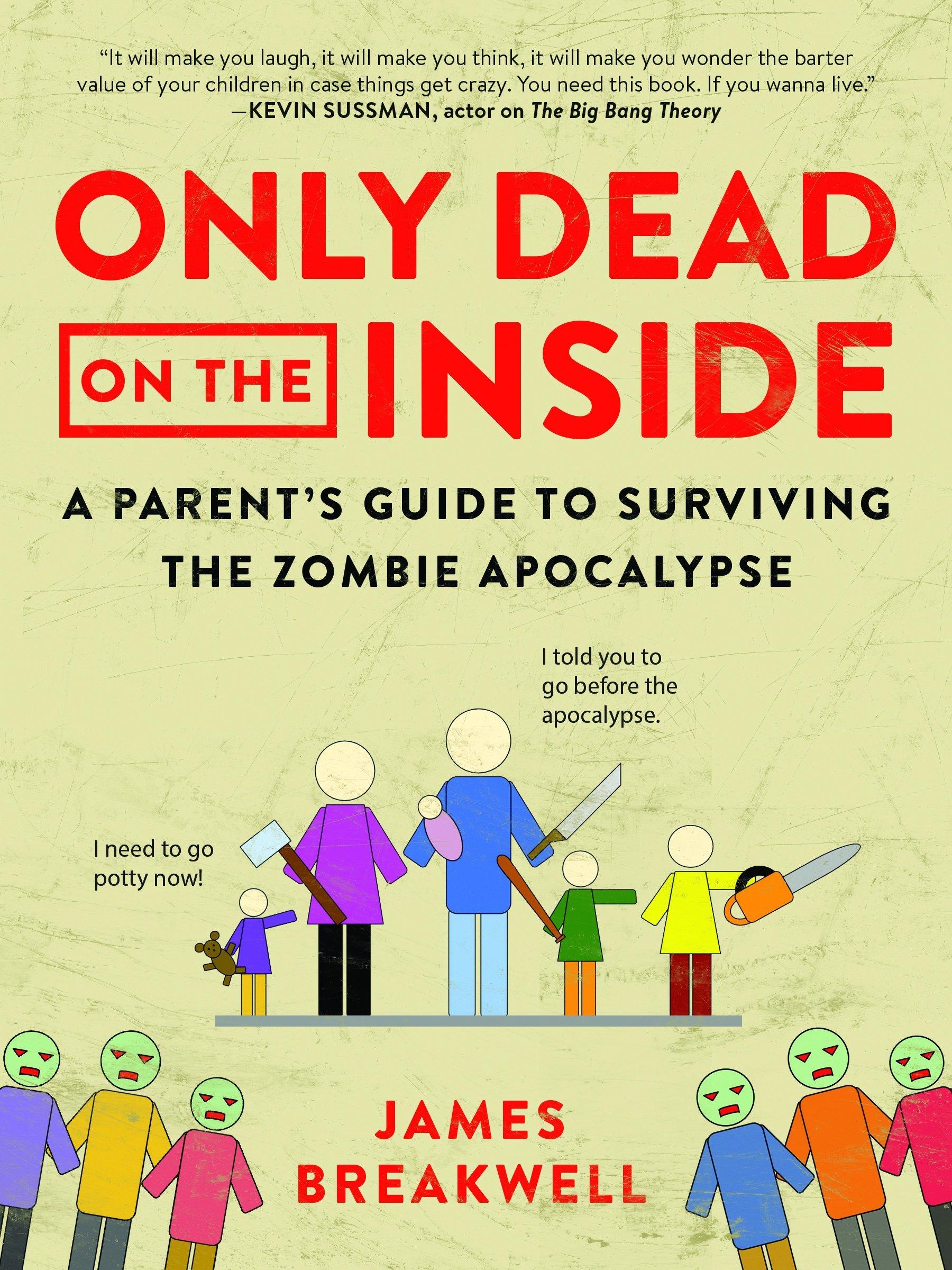 Parents need help during the zombie apocalypse,