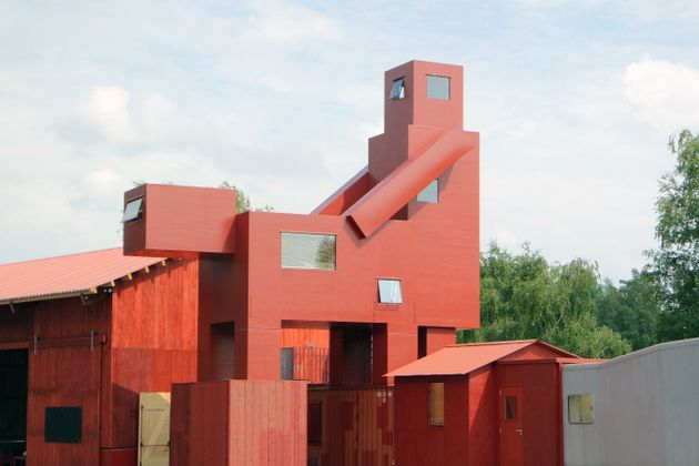 The Louvre Pulls 'Explicit' Sculpture Of Two Buildings Getting