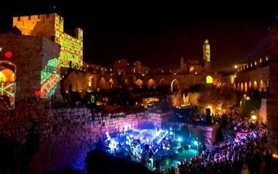Performances at the Tower of David