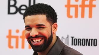 TORONTO, ON- SEPTEMBER 9  -   Drake at the red carpet for the movie, 'The Carter Effect' at the Winter Garden and Elgin Theatres during the Toronto International Film Festival  in Toronto.  September 9, 2017.        (Steve Russell/Toronto Star via Getty Images)