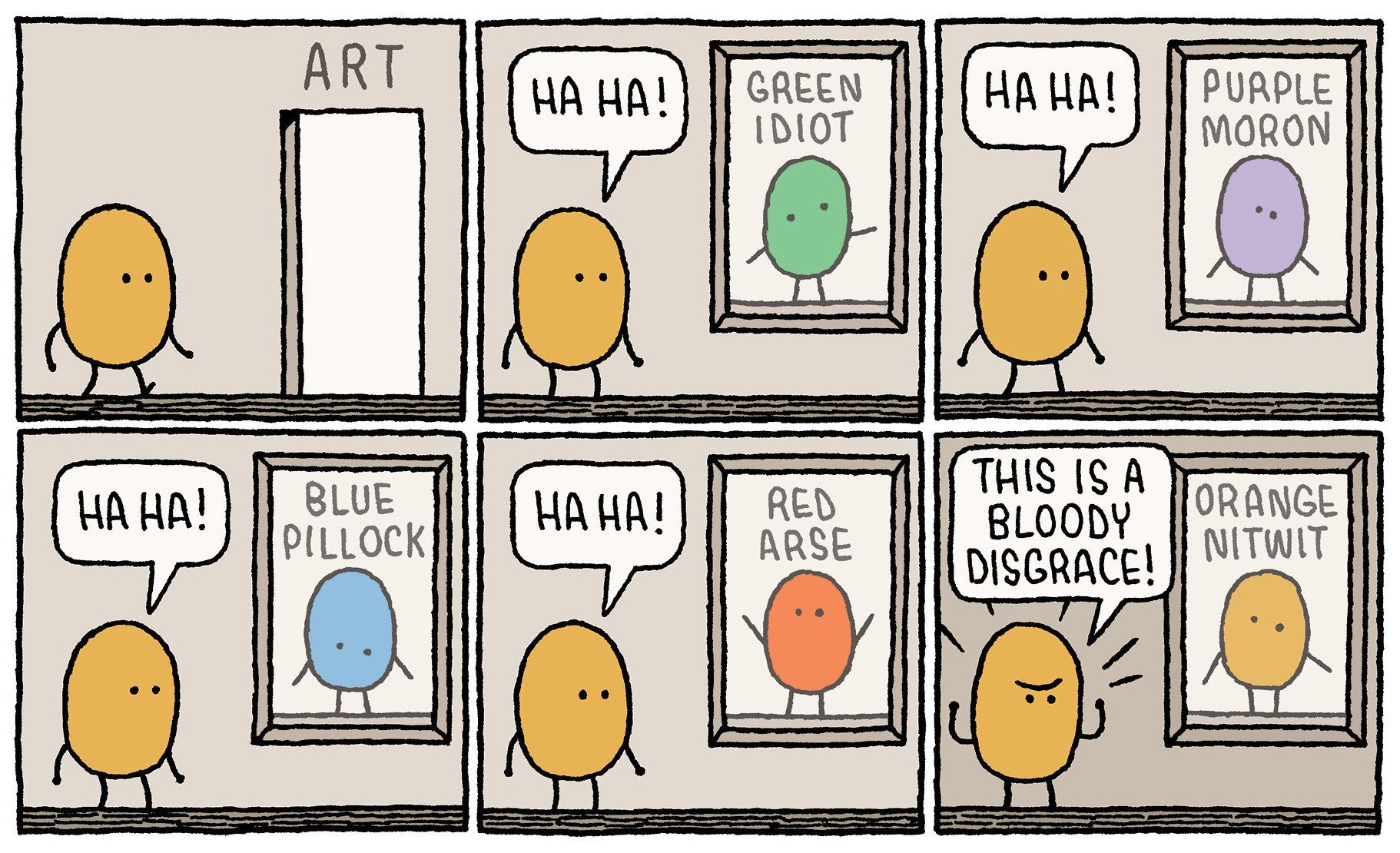 Tom Gauld's Deceptively Simple Comics Hold A Mirror To Human