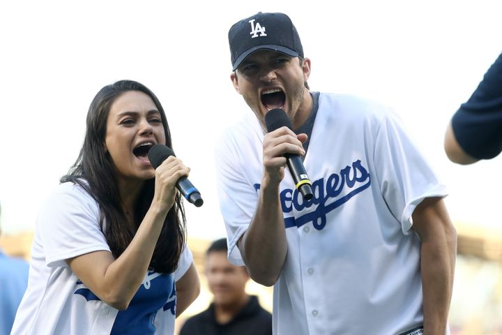 Kunis and her husband, Ashton Kutcher, have two kids, 3-year-old Wyatt and 10-month-old Dimitri.
