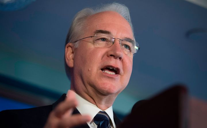 Tom Price resigned as secretary of Health and Human Services after Politico reported he had been taking private jets for gove