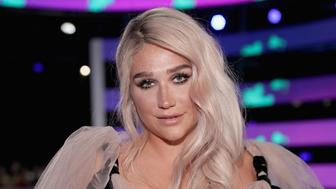 INGLEWOOD, CA - AUGUST 27:  Kesha attends the 2017 MTV Video Music Awards at The Forum on August 27, 2017 in Inglewood, California.  (Photo by Christopher Polk/Getty Images)