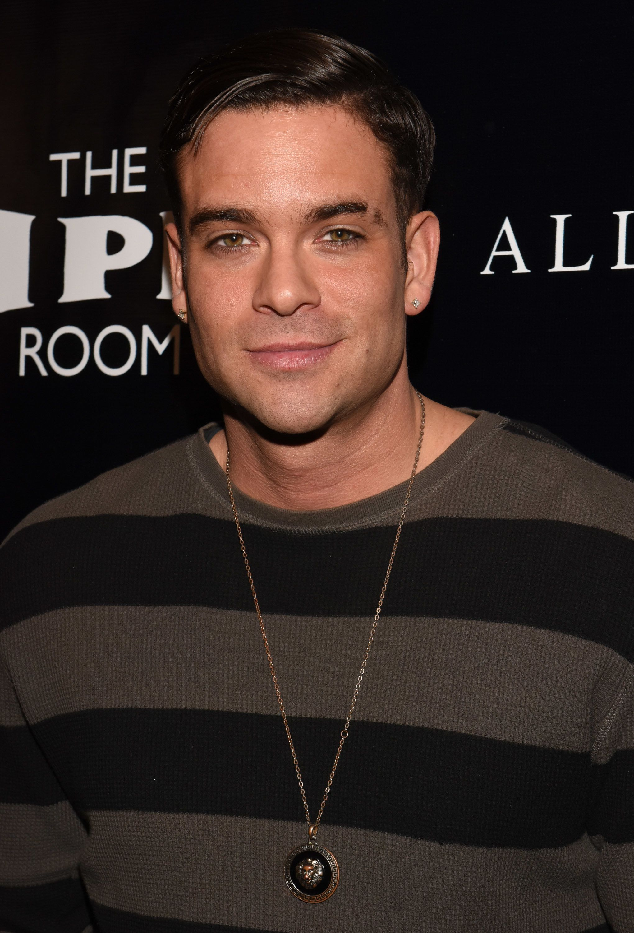 Mark Salling attends an event in