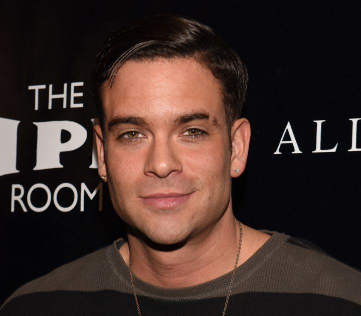 Mark Salling attends an event in 2015.