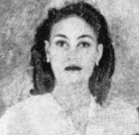 Anadilia Jiménez (Aleja) at the time of the genocide.