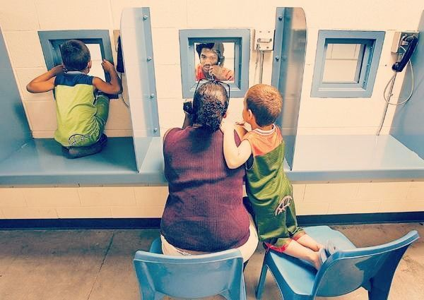 2.7 million children in the U.S. have at least one parent in prison.
