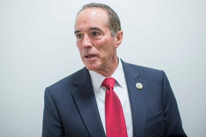 Rep. Chris Collins (R-N.Y.) is a Republican in one of the three Democratic states that would be most adversely affected