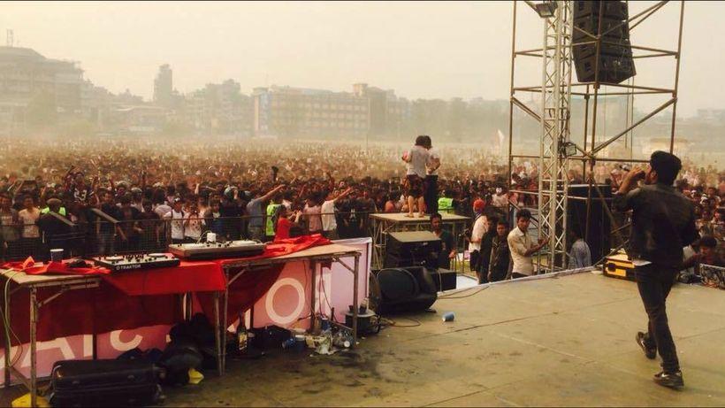 Prakash is  performing in Kathmandu.