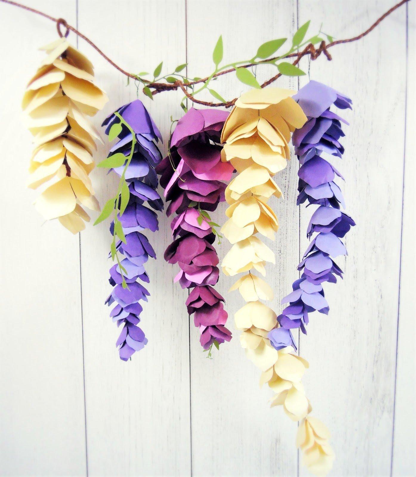 Paper Flower Decoration Ideas Romeondinez