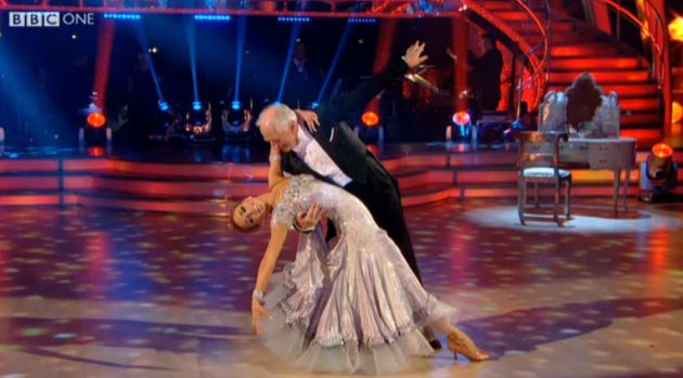 Johnny on the 'Strictly'